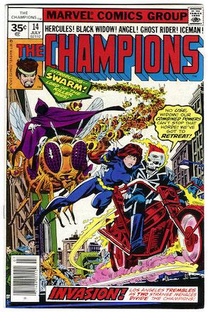 Champions #14 35c Price Variant