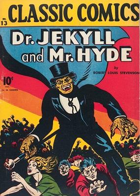 Classic Comics / Classics Illustrated #13 (1943): Very early horror comic book. Click for values