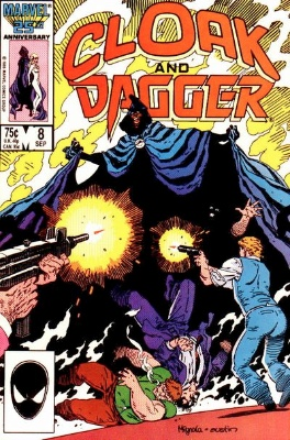 Origin and First Appearance, Assembly of Evil, Cloak and Dagger Vol 2 #8, Marvel Comics, 1986. Click for value