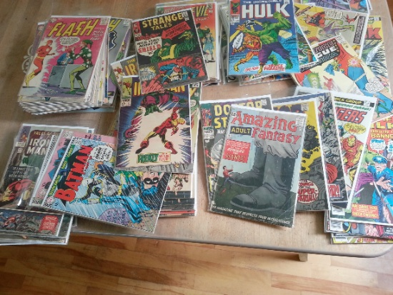 Organizing and appraising the value of an old comic collection can be daunting!