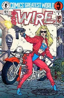 Origin and First Appearance, Mace Blitzkrieg Comics Greatest World: Steel Harbor Week #1, Dark Horse Comics, 1993. Click for value