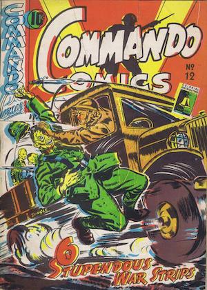 Commando Comics #12
