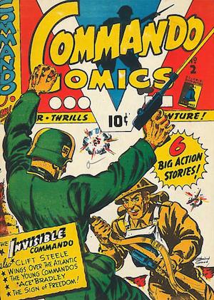 Commando Comics #2