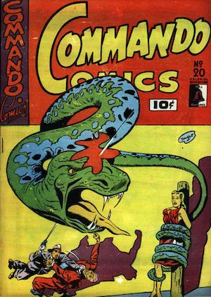 Commando Comics #20