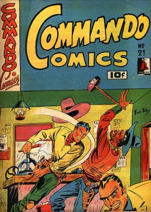 Commando Comics #21
