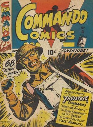 Commando Comics #4
