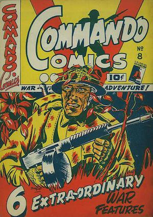 Commando Comics #8