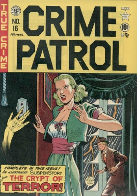 Crime Patrol #16 by EC Comics. Click for current worth
