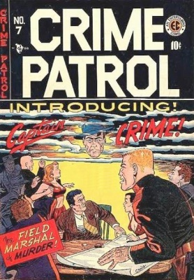 Crime Patrol #7 by EC Comics. Click for values