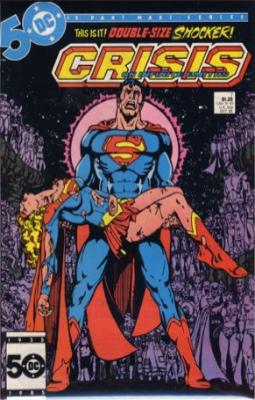 Crisis on Infinite Earths #7 (October 1985): Death of Kara Zor-El. Click for values