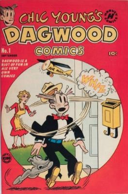 Dagwood Comics #1 (1950): Dagwood Gets His Own Title. Click for values