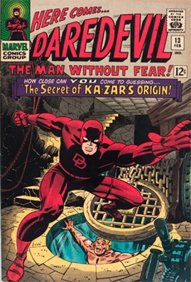 Click here to see the value of Daredevil Comics #13