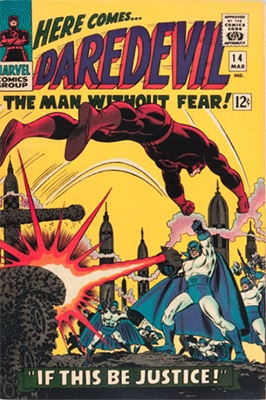 Click here to see the value of Daredevil Comics #14