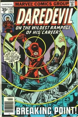 Daredevil #147 35 Cent Price Variant