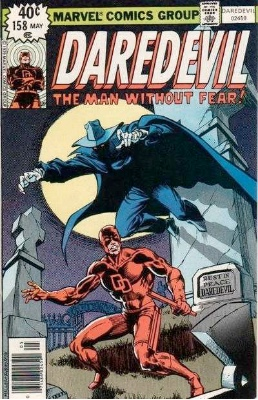 Daredevil #158 (May 1979): First Frank Miller Daredevil Issue. Click for values