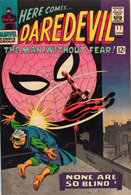Daredevil #17 (July 1966): Team-Up With Spider-Man. Click for values