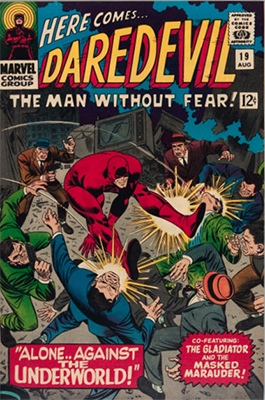 Click here to check the value of Daredevil Comic #19