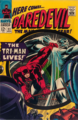 Click here to check the value of Daredevil Comic #22
