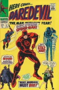 Daredevil: #9 most popular of Marvel Comics characters