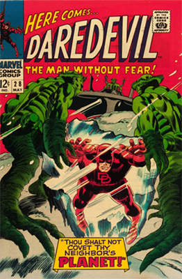 Click here to see the value of Daredevil #28