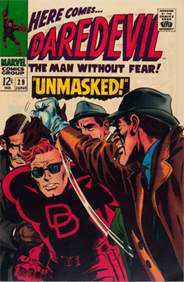 Click here to see the value of Daredevil #29