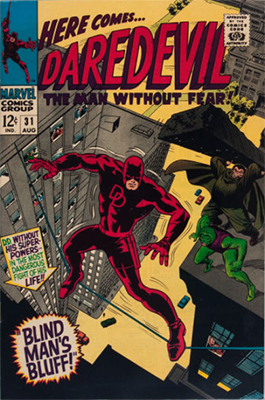 Click here to see the value of Daredevil #31