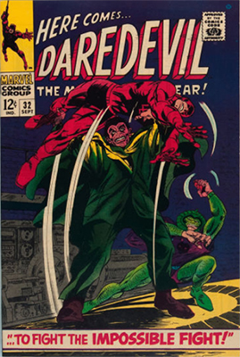 Click here to see the value of Daredevil #32
