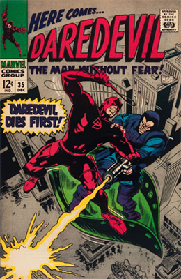 Click here to see the value of Daredevil #35