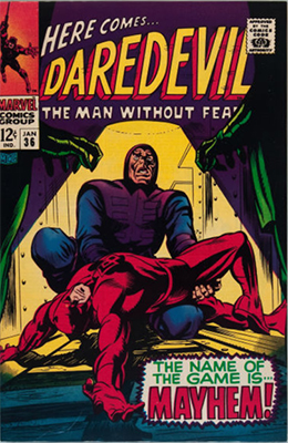 Click here to see the value of Daredevil #36