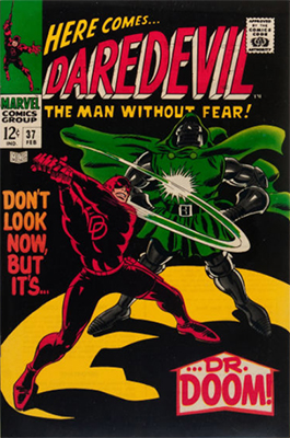 Daredevil #37: Dr. Doom Appearance. Click for value