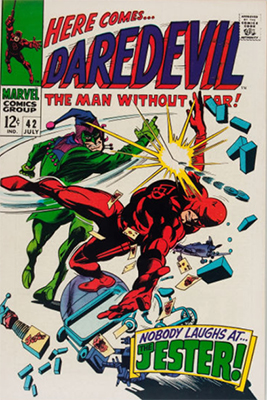 Daredevil #42. First Daredevil Appearance of Kilroy. Click for values