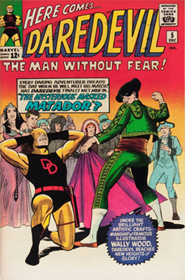 Daredevil #5 by Marvel Comics. Click for values