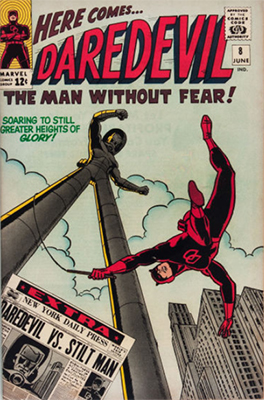 Click here to see the value of Daredevil Comics #8