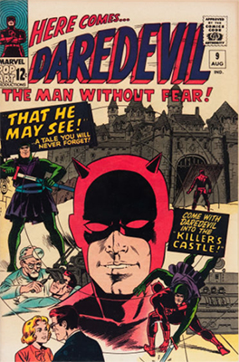 Book daredevil comic