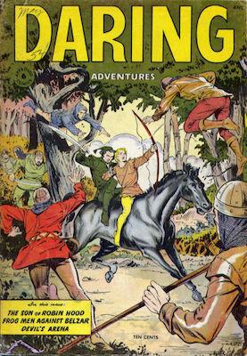 Daring Adventures / Approved Comics #6. Rare Matt Baker comic. Click for values
