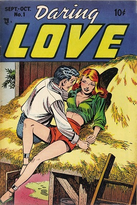 Daring Love #1: rare first in series, Steve Ditko's first published art. Click for value