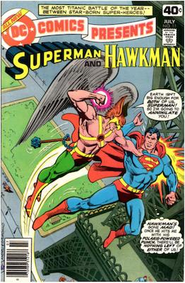DC Comics Presents #11. Click for values.