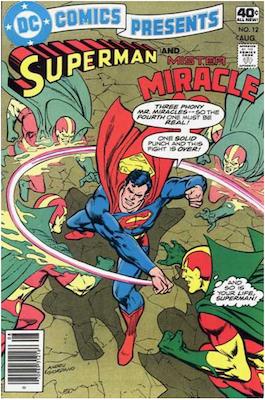 DC Comics Presents #12. Click for values.
