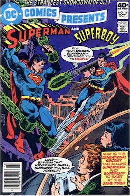 DC Comics Presents #14. Click for values.
