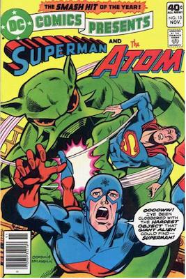 DC Comics Presents #15. Click for values.