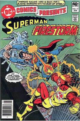 DC Comics Presents #17. Click for values.
