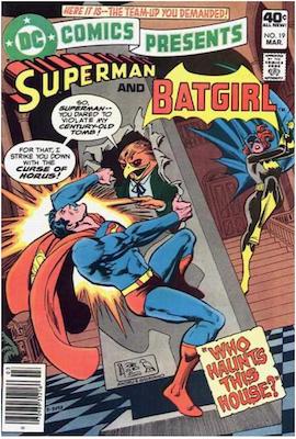 DC Comics Presents #19. Click for values.