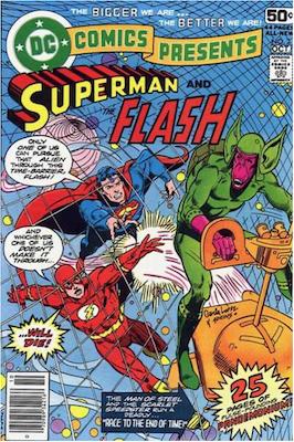 DC Comics Presents #2. Click for values.