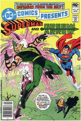 DC Comics Presents #20. Click for values.