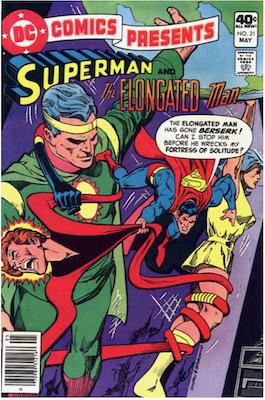 DC Comics Presents #21. Click for values.