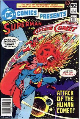 DC Comics Presents #22. Click for values.