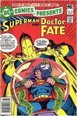 DC Comics Presents #23. Click for values.