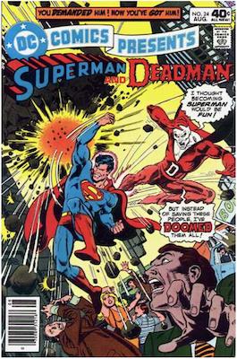 DC Comics Presents #24. Click for values.