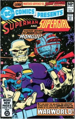 DC Comics Presents #28. Click for values.