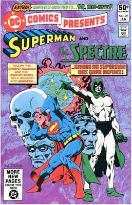 DC Comics Presents #29. Click for values.